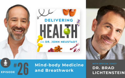 26. Mind-body Medicine and Breathwork with Dr. Brad Lichtenstein